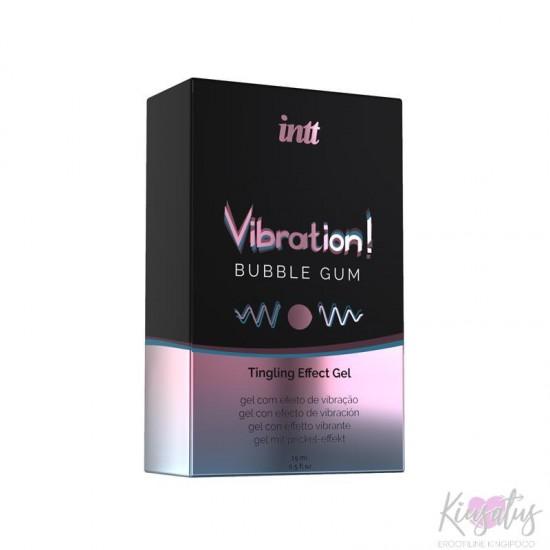 Intt vedel vibraator Bubble gum 15ml