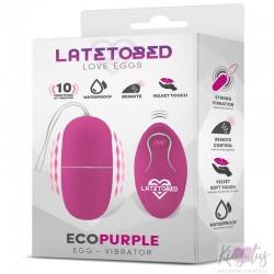 Ecopurple'i vibreeriv muna kaugjuhtimispuldiga