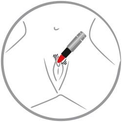 """Minivibraator """"Kiss me"""" Lipstick"""